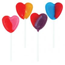Dum Dums Heart Pops