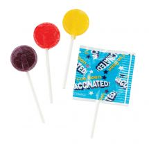 I've Been Vaccinated Lollipops
