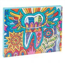 Modern Art Tooth Canvas Print
