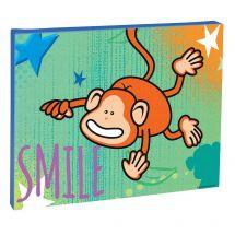 Smile Monkey Canvas Print