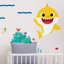 Baby Shark Giant Wall Decals