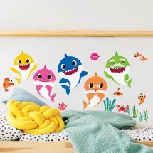 Baby Shark Assorted Wall Decals