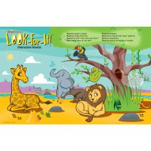 Jungle Friends Look-For-It Distraction Board