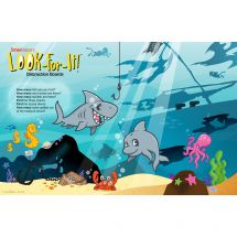 Sea Life Pals Look-For-It Distraction Board