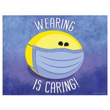 Wearing Is Caring Wall Decal