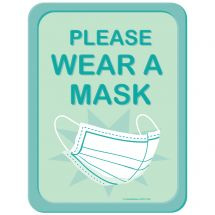 Please Wear A Mask Wall Decal