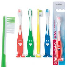 SmileCare Youth Smiley Suction Toothbrushes