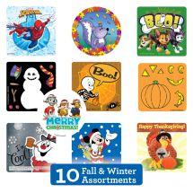 Fall & Winter Seasonal Sticker Sampler