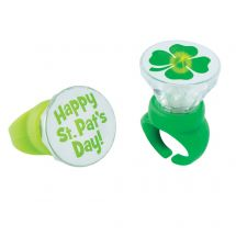 Light Up St Patricks Day Rings