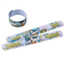 Wonder Woman Slap Bracelets