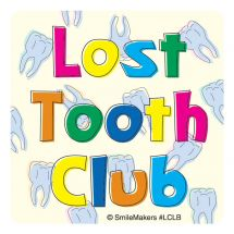 Lost Tooth Club Stickers