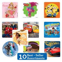 Best Sellers Licensed Stickers