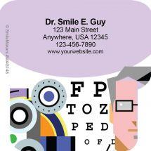 Shaped Eye Chart Magnets