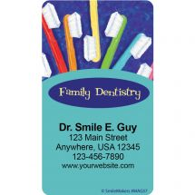 Painted Toothbrushes Magnets