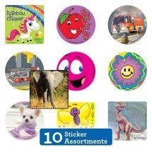 10 Unit Sticker Sampler