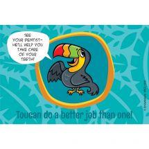 Jungle Friends Toucan Recall Cards