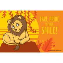 Jungle Friends Lion Recall Cards