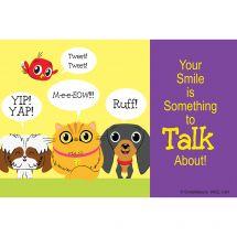 Custom Playful Pets Recall Cards