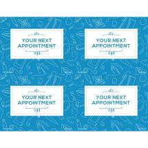 Azure Dental Sketch Laser Recall Cards