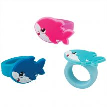 Shark Pup Rubber Rings