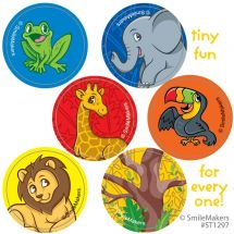 Jungle Friends Mini Dot Stickers