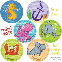 Sea Life Pals Mini Dot Stickers