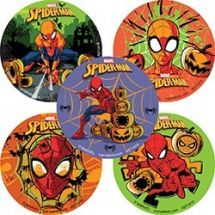 Halloween Spider-Man™ Stickers