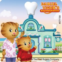 Daniel Tiger Dental Stickers