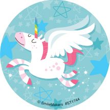 Flying Unicorn Stickers