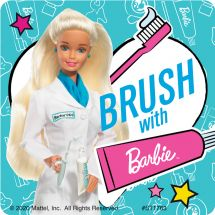 Barbie Dental Stickers