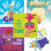 Trolls World Tour Patient Stickers