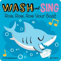 Hand Wash and Sing Stickers