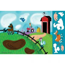 On the Farm Sticker Play Scenes
