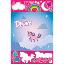 Unicorn Dreams Sticker Play Scenes
