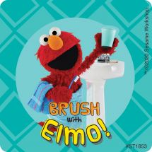 Sesame Street Brushing Stickers