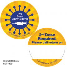 COVID Vaccination & Appointment Reminder Stickers