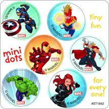 Avengers Mini Dot Stickers
