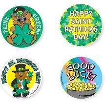 Assorted St. Patricks Stickers