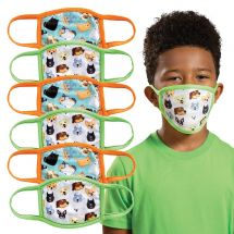 Child's Dogs & Cats Washable Face Masks
