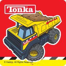 Tonka Truck Sticker Assortment