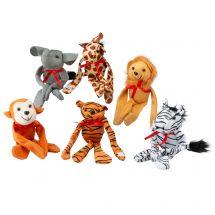 Plush Zoo Animals