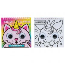 Anicorn Wiggle Eye Coloring Books