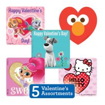 Valentine's Sticker Sampler