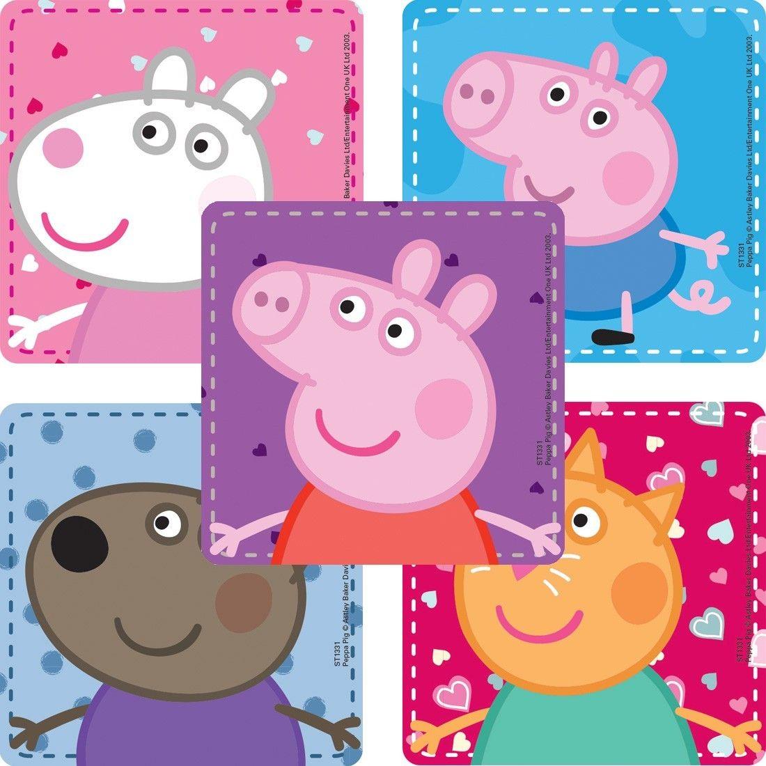 Peppa Pig Sticker Assortment