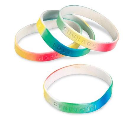 Wearable Giveaways: Bracelets, Bands & Backpack Pulls