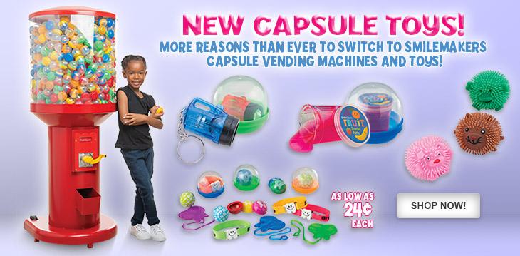 New Capsule Toys!