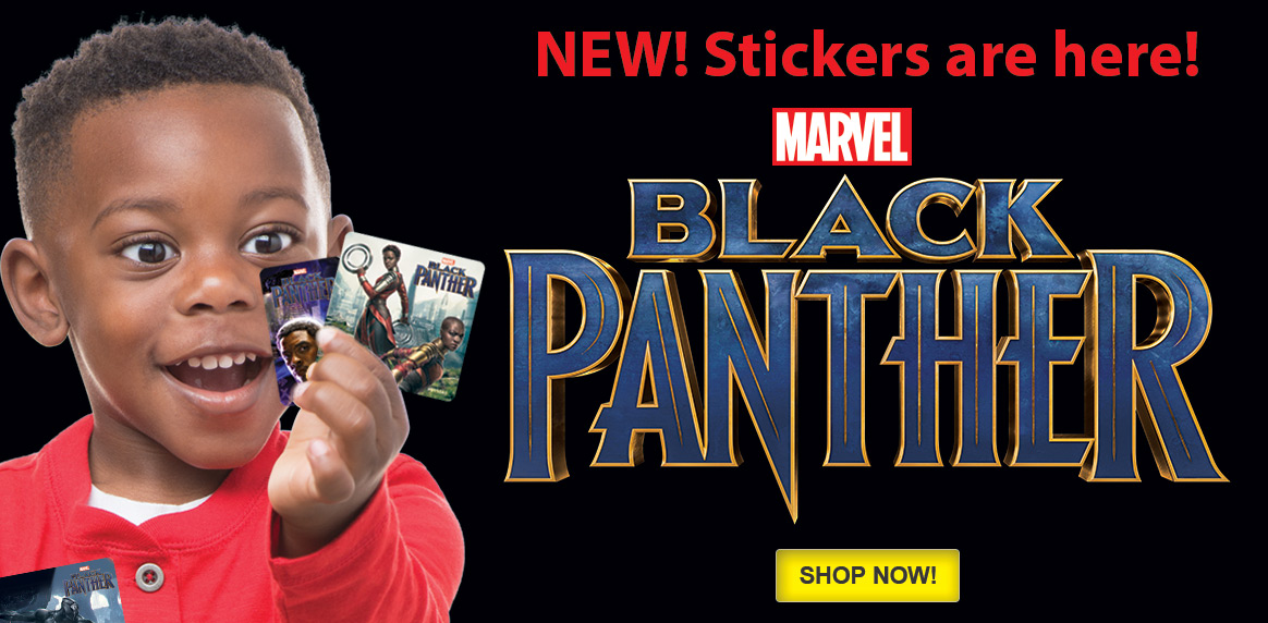 Black Panther Stickers!
