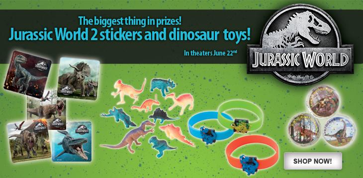 Jurassic World 2 & Dino Toys!