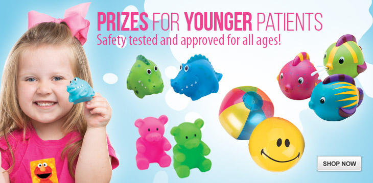 Toys safety tested for all ages!