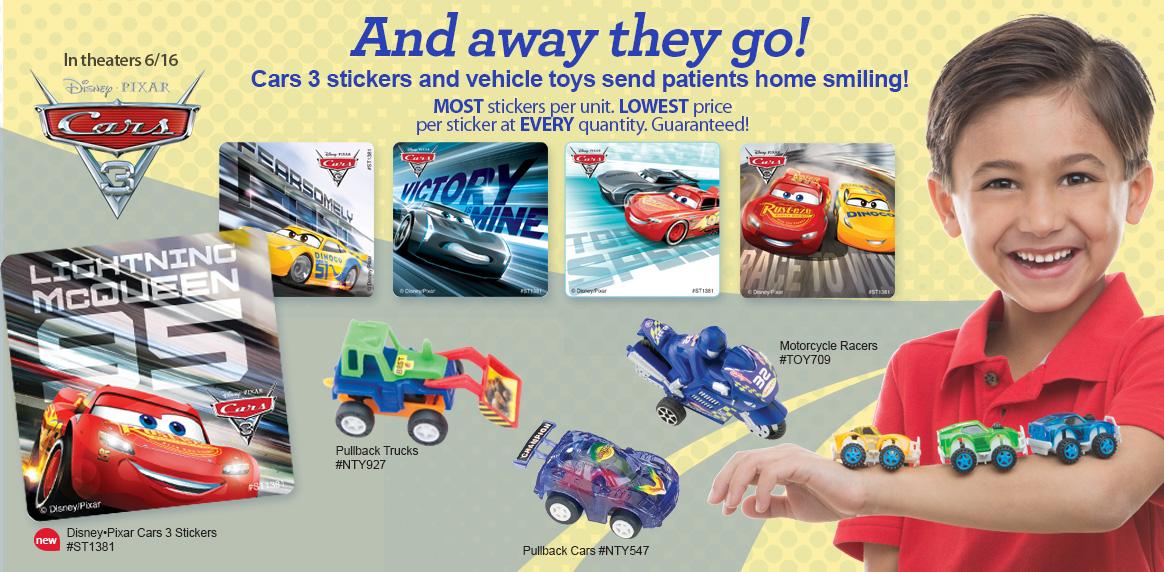 Cars 3 & Vehicle Toys!
